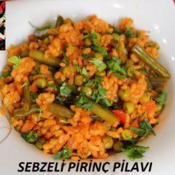 Sebzeli Pirinç Pilavı