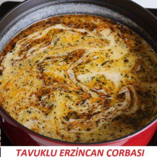 Tavuklu Erzincan Çorbası