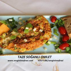 Taze Soğanlı Omlet Tarifi