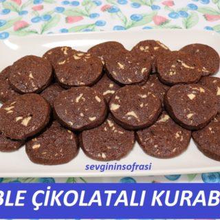 Duble Çikolatalı Kurabiye